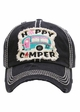 Happy Camper Patch Vintage Baseball Hat inset 2