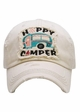 Happy Camper Patch Vintage Baseball Hat inset 3