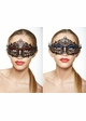 Heart of the Masquerade Gem Crystal Mask inset 2