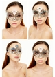 Heart of the Masquerade Gem Crystal Mask inset 3