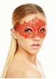 Heart of the Masquerade Vibrantly Colored Mask inset 3