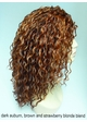 Heat and Styling Friendly 3/4 Curly Wig inset 1