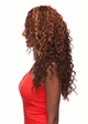 Heat and Styling Friendly Curly 3/4 Wig inset 1