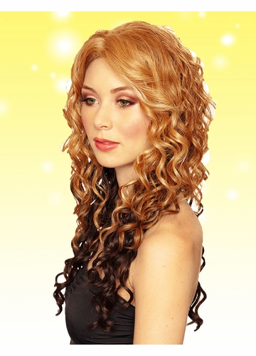 Heat Safe Lace Front Wig Isabella with Long Cascading Curls