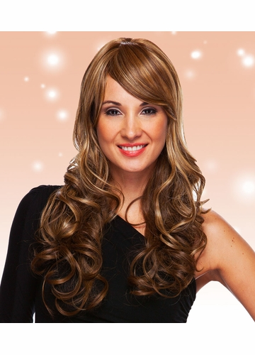 Heat and Styling Friendly Long Glamor Curls Wig Vegas