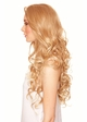 Heat Safe Lace Front Wig Holiday with Long Glamour Curls inset 1