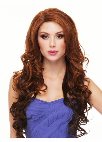Heat Safe Lace Front Wig Sasha with Loose Curls