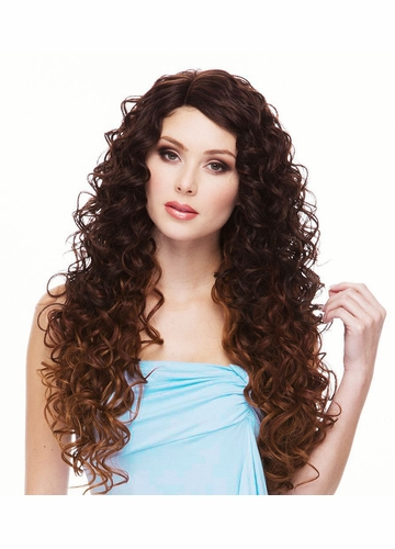 Heat Safe Lace Front Wig Spring with Angel Curls