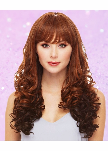Heat Safe Long Angel Wavy Curl Wig Dallas