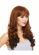 Heat Safe Long Angel Wavy Curl Wig Dallas inset 1