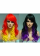Heat Safe Long loose Curl Wig with Rich Bangs inset 2