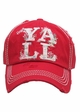 Hey Y'All Vintage Baseball Hat inset 3