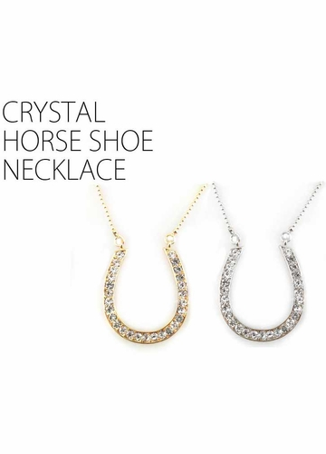 Horse Shoe Cowgirl Necklace