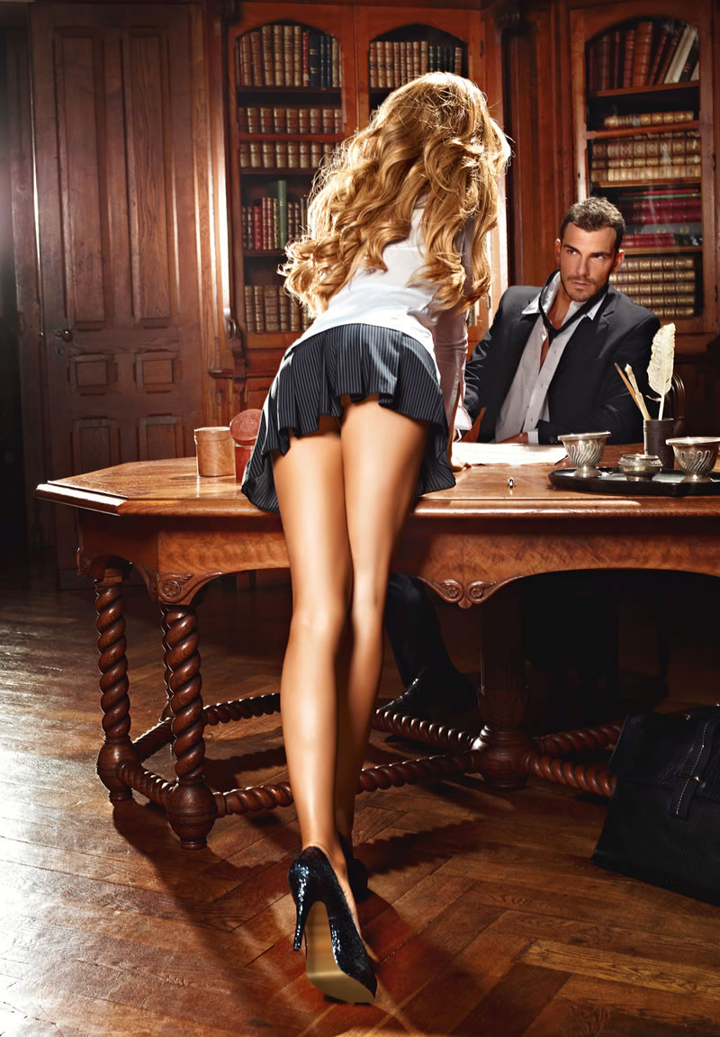 my hot secretary