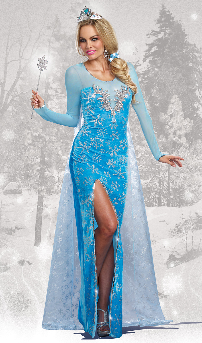 ice queen halloween costume