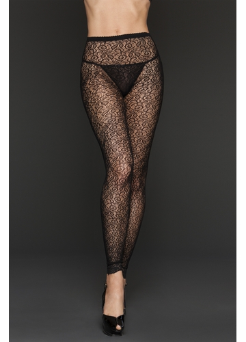 Ivy Lace Footless Tights