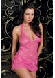 Jasmin Lace Halter Mini Dress and Thong inset 2