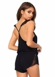 Jersey and Lace Romper inset 2