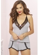 Jersey Cami and Shorts with Lace Trim inset 3