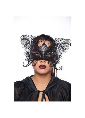 Jeweled Butterfly Masquerade Mask
