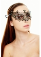 Jeweled Chiara Masquerade Mask with Gems inset 1