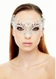 Jeweled Chiara Masquerade Mask with Gems inset 2