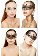 Jeweled Chiara Masquerade Mask with Gems inset 3
