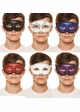 Just Dance Mask with Glitter Eyes and Swirls inset 1