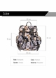 Kittens Photo Print Canvas Backpack from Zohra inset 2