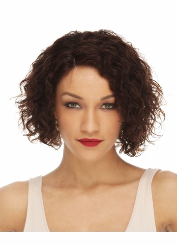 Lace Front Wavy Human Hair Wig Trudy