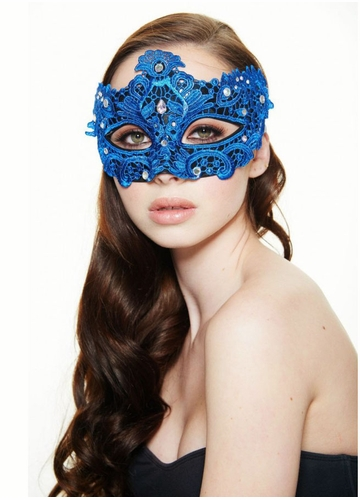 Lace Goddess Masquerade Mask