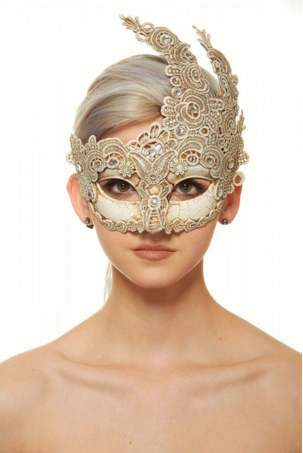 Lace Masquerade Ball Mask