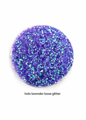 Lavender Iridescent Luxe Glitter Powder for Eyeliner and Eye Makeup