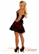 Lavish Red Lace Corset Dress inset 1
