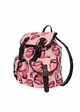Lips Print Canvas Backpack from Zohra inset 1