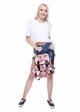 Lips Print Canvas Backpack from Zohra inset 2
