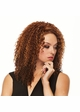 Long and Curly Heat Safe 3/4 Wig Chaka inset 1
