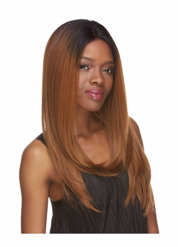 Long and Straight lace Front Wig Evelyn