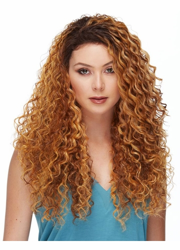 Long Angel Curl Lace Front Wig Delaney