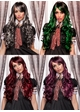 Long Bouncy Curl Anime Wig Plus Two Matching Hair Pieces inset 1