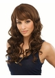 Long Bouncy Curls Human Hair Blend Wig Cadence inset 1