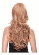Long Bouncy Glamour Curl Human Hair Blend Wig Noelle inset 1