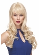 Long Bouncy Glamour Curl Human Hair Blend Wig Noelle inset 4
