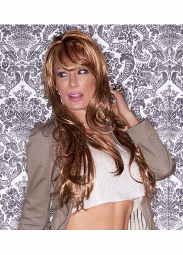 Long Glamour Layered Wig Carmen  with Bangs
