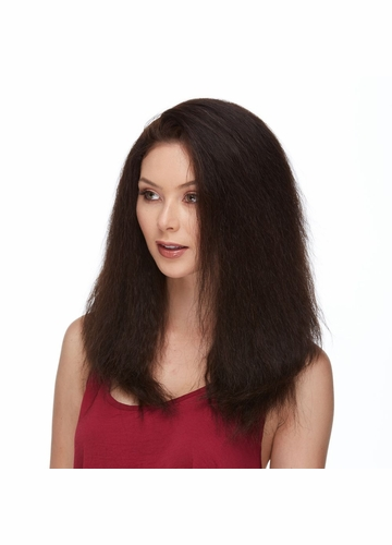 Long Lace Front Human Hair Wig Indiana