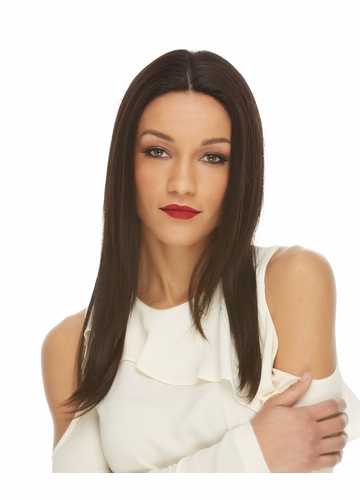 Long Lace Front Human Hair Wig Luana