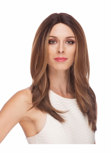 Long Layered Lace Front Wig Saffron