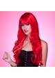 Long Layered Sultry Red Wig with Bangs inset 1