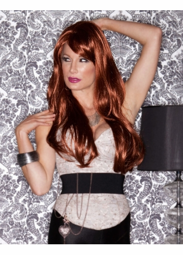 Long Layered Sultry Wig Carmen with Bangs