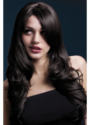 Long Soft Wave Wig Nicole in Brown